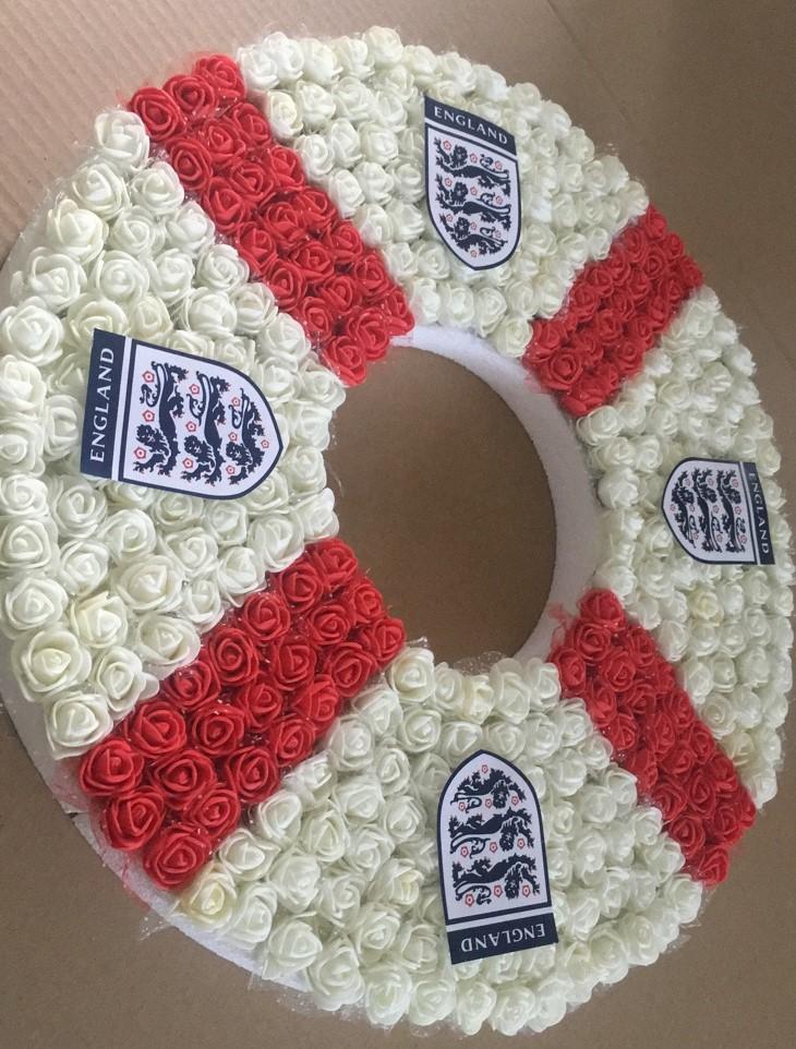 England wreath 2
