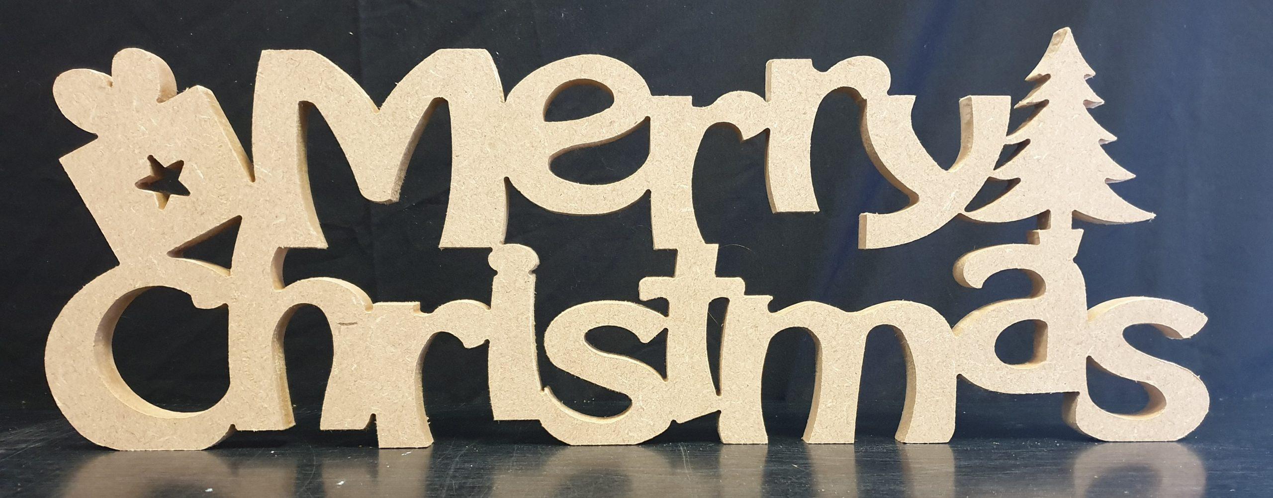 Merry Christmas Plain